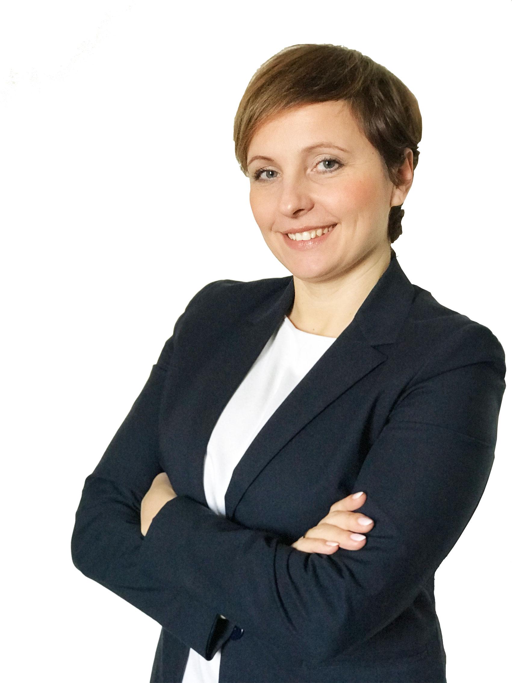 Fotografia Aliny Gofron. Alina Gofron jest trenerem sprzedaży, konsultantem biznesowym oraz trenerem PCM.